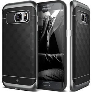 Galaxy-S7-Edge-Case-Caseology-Parallax-Series-Textured-Pattern-Grip-Case-Black-Shock-Proof-for-Samsung-Galaxy-S7-Edge-2016-Black-0